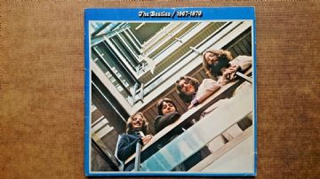 The Beatles 1967-1970 Double LP ..